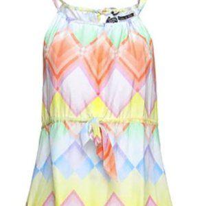 Paul & Shark Cotton/Silk Patterned Short Dress - 2